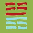 62 Conscientiousness I Ching Hexagram by SpiritStudio