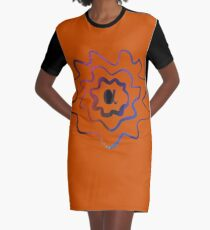 Frequency (Alpha) - ohms' Custom Worms Armageddon Level Graphic T-Shirt Dress