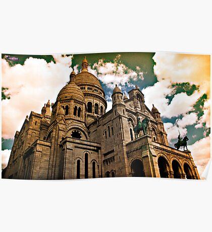 Montmartre_Paris Poster