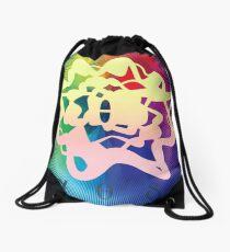 Frequency (Theta) - ohms' Custom Worms Armageddon Level Drawstring Bag