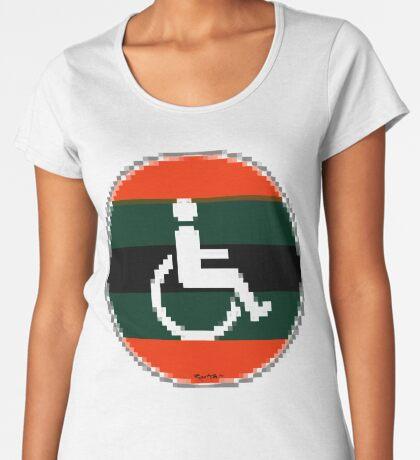 Handicap and singularity 12/99 Women's Premium T-Shirt