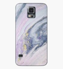 Pastel Colored Romantic Marble Pattern  Case/Skin for Samsung Galaxy