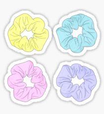 Purple Scrunchie Stickers Redbubble