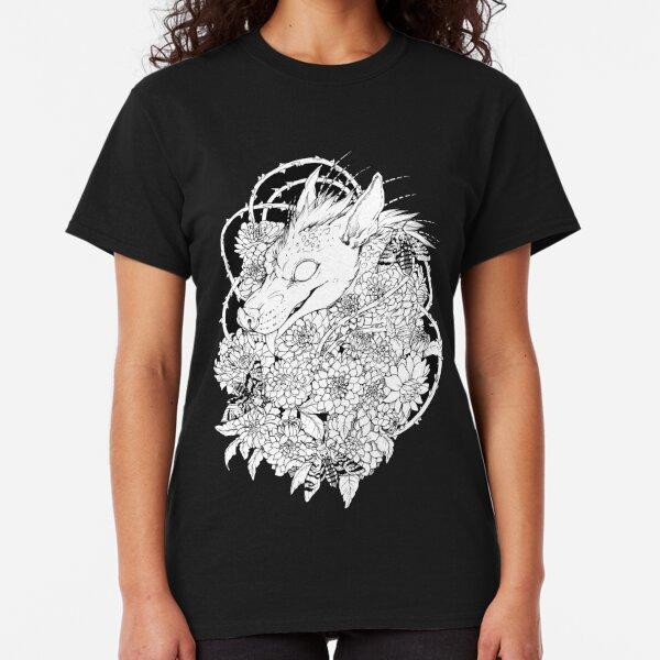 Chupacabra en las flores Classic T-Shirt