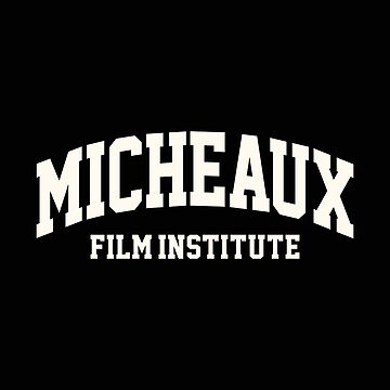 Micheaux Film Institute Floral White by PEK1787
