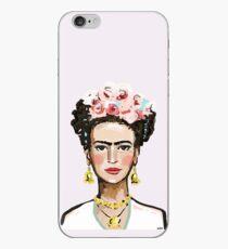 frida kahlo illustration iPhone Case