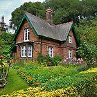 Aunt Lizzie's Cottage, Edinburgh, Scotland . by Jim Wilson