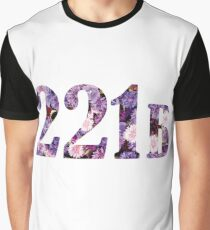 Floral 221B Graphic T-Shirt
