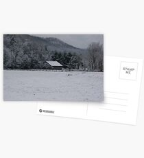 Winter in the Appalachian Mountains Postcards