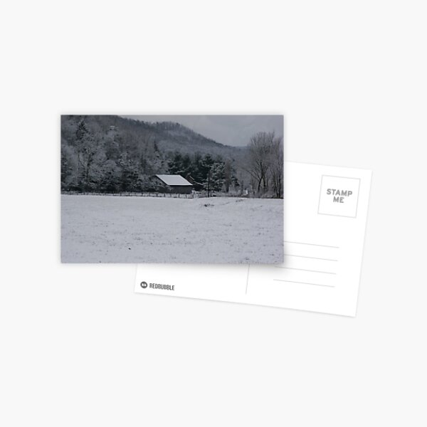 Winter in the Appalachian Mountains Postcard
