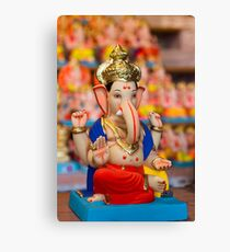 Moods of Lord Ganesh #4 Canvas Print