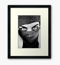 My whole life for only one regard Framed Print