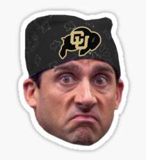 University of Colorado Boulder Prison Mike Sko Buffs Buffaloes Bandana Sticker