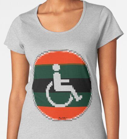 Handicap and singularity 11/99 Women's Premium T-Shirt