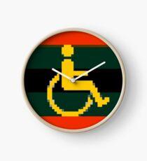 Handicap and singularity 11/99 Clock