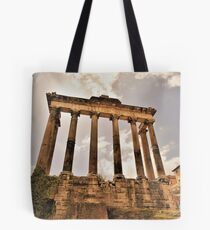 The Temple Of Saturn.............................Rome Tote Bag