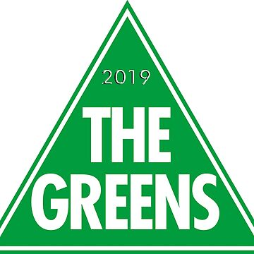 The Greens: The Green Party of Australia 2019 Logo by Spacestuffplus