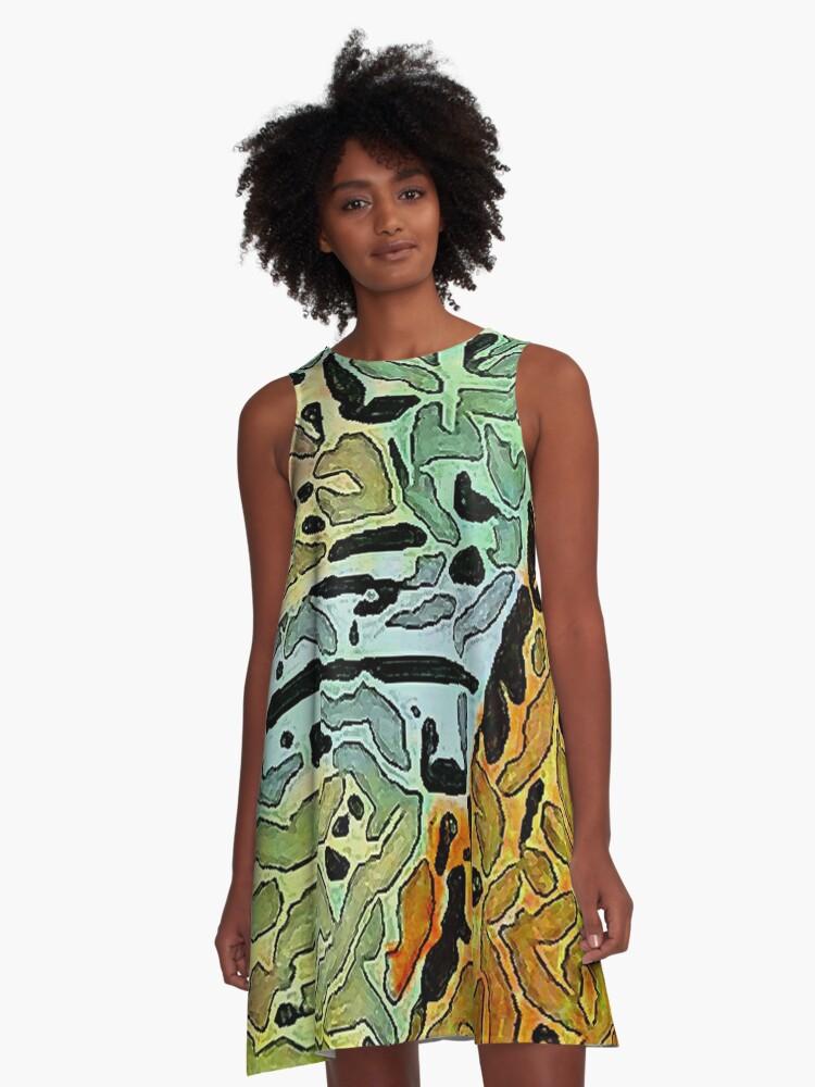 Markings A-Line Dress Front