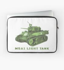 M5A1 Light Tank of World War Two Army Tanks Laptop Sleeve