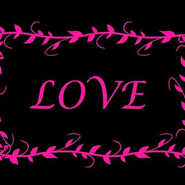 LOVE graphic by nopemom