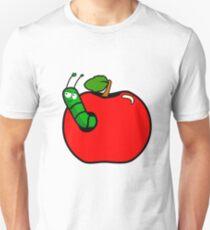 Caterpillar apple Unisex T-Shirt