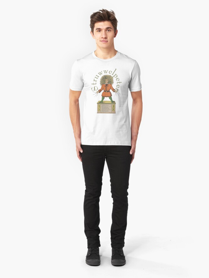"Alternate view of ""Der Struwwelpeter""...Slovenly Peter Slim Fit T-Shirt"