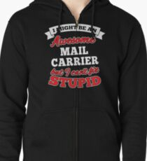 MAIL CARRIER T-shirts, i-Phone Cases, Hoodies, & Merchandises Zipped Hoodie