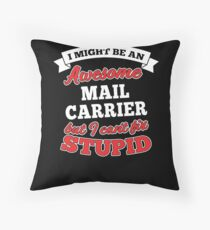 MAIL CARRIER T-shirts, i-Phone Cases, Hoodies, & Merchandises Throw Pillow
