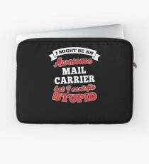 MAIL CARRIER T-shirts, i-Phone Cases, Hoodies, & Merchandises Laptop Sleeve