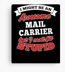 MAIL CARRIER T-shirts, i-Phone Cases, Hoodies, & Merchandises Canvas Print