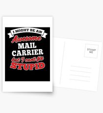 MAIL CARRIER T-shirts, i-Phone Cases, Hoodies, & Merchandises Postcards