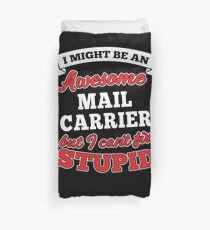 MAIL CARRIER T-shirts, i-Phone Cases, Hoodies, & Merchandises Duvet Cover