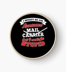 MAIL CARRIER T-shirts, i-Phone Cases, Hoodies, & Merchandises Clock