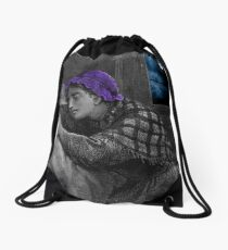 Cry a Little Prayer For Me Drawstring Bag