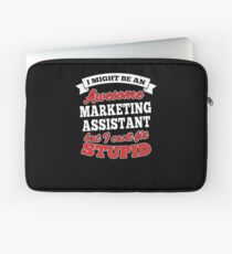 MARKETING ASSISTANT T-shirts, i-Phone Cases, Hoodies, & Merchandises Laptop Sleeve