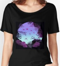 Round Reef - ohms' Custom Worms Armageddon Level Women's Relaxed Fit T-Shirt