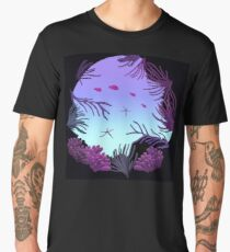Round Reef - ohms' Custom Worms Armageddon Level Men's Premium T-Shirt