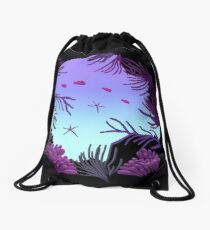 Round Reef - ohms' Custom Worms Armageddon Level Drawstring Bag