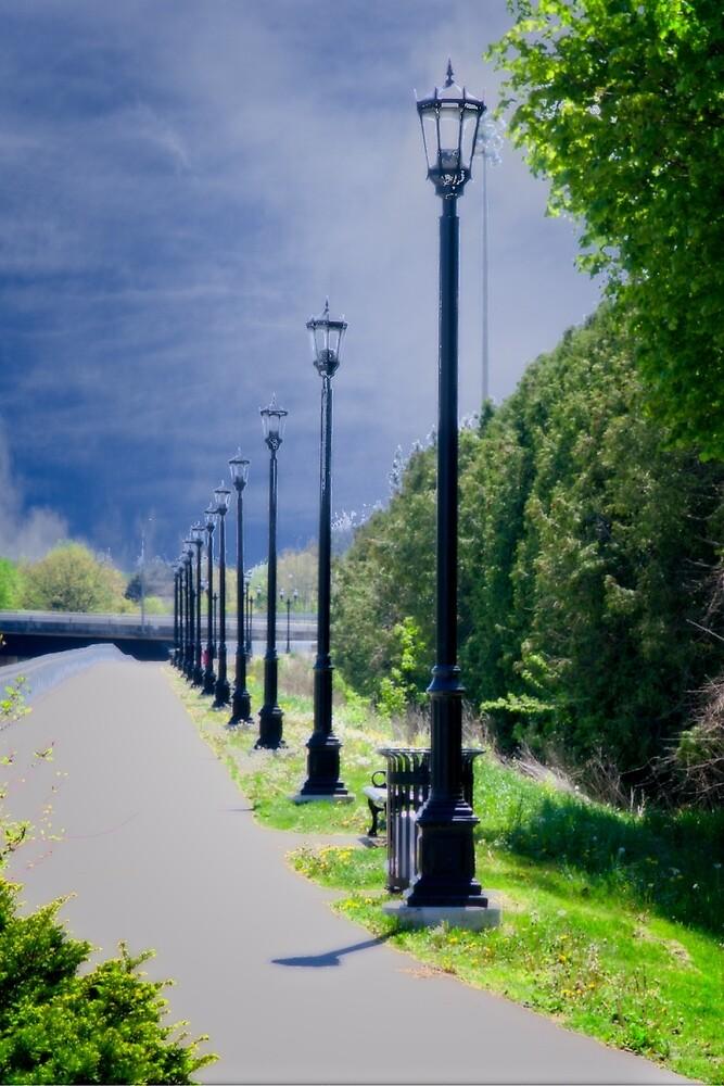Walkway on the Thames by Yukondick