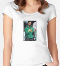 Drake. Women's Fitted Scoop T-Shirt