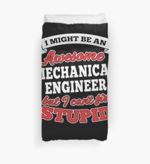 MECHANICAL ENGINEER T-shirts, i-Phone Cases, Hoodies, & Merchandises Duvet Cover