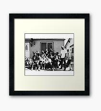 bw 1 Framed Print