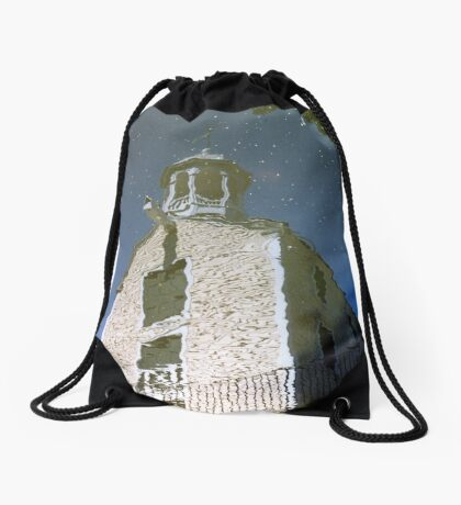 Industrial Revolution Revisited Drawstring Bag
