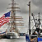 USCG Barque Eagle _ Coast Guard Tall Ship  by Poete100