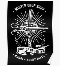 Chop Shop Gods of Grooming Poster