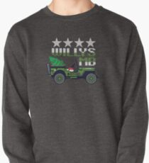 Willys MB Christmas Veteran Military Gift & T-Shirt Pullover