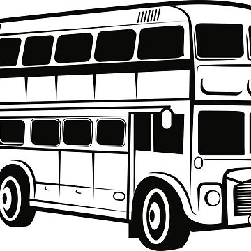 Double Decker Bus by Reethes