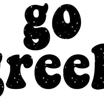 go greek starry by lolosenese