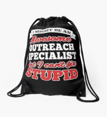 OUTREACH SPECIALIST T-shirts, i-Phone Cases, Hoodies, & Merchandises Drawstring Bag