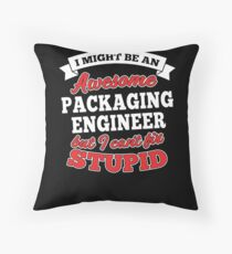 PACKAGING ENGINEER T-shirts, i-Phone Cases, Hoodies, & Merchandises Throw Pillow